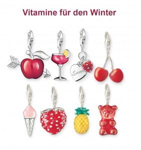 Früchte Charms von Thomas Sabo