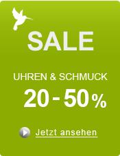 Bis zu 50% Sale