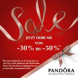 Jetzt im Pandora Sale bis zu 50% sparen